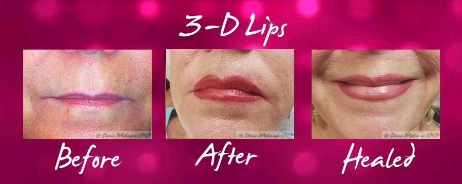 3-D Lips (c)