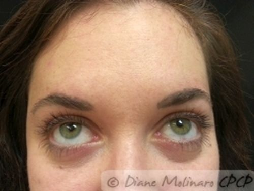 Hair stroke brows After
