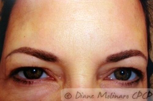 hairstroke brows Healed