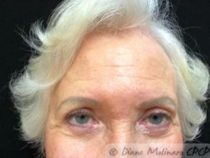 After: even and lighter brows