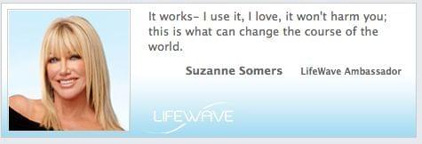 Suzanne Somers for Livewave